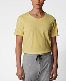 BOSS Men's Tiburt Bright Yellow T-Shirt