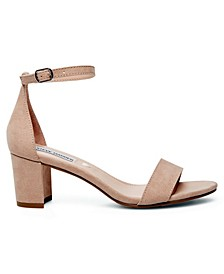 Big Girls Block Heel Sandal