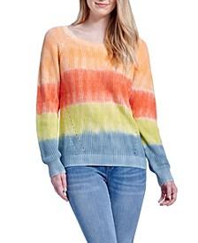 Tie Dye Pullover Sweater