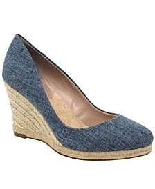 Simple Espadrille Wedges