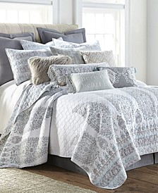Josie Global Paisley Full/Queen Quilt Set