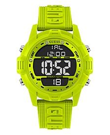 Logo Silicone Digital Watch 48mm
