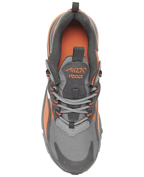Nike Big Boys Air Max 270 React Casual Sneakers From Finish Line