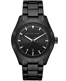 Layton Three - Hand Black IP Watch