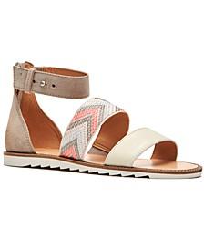 Port Treaded Flat Sandals
