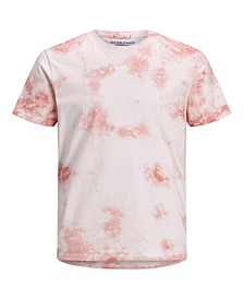Men's Cotton Tie Dye Crew Neck Short Sleeve T-shirt