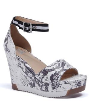 Women's Grace Lug Sole Wedge Sandals Women's Shoes