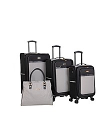 Greenwich 4 Piece Spinner Luggage Set