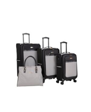 Isaac Mizrahi Greenwich 4 Piece Spinner Luggage Set