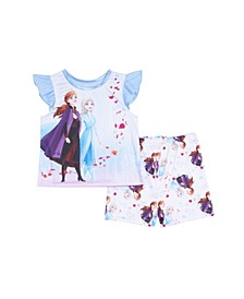 II Toddler Girls 2 Piece Pajama Set