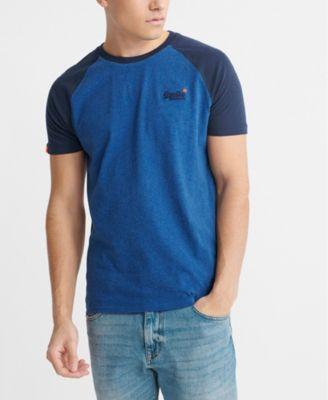 Men's Orange Label Short Sleeved Baseball T-shirt