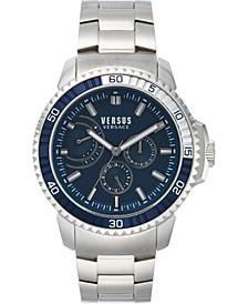 Men's Aberdeen Extension Stainless Steel Bracelet Watch 45mm