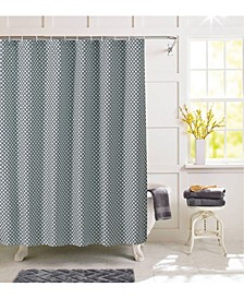 Ironwork Shower Curtain with 12 Rings