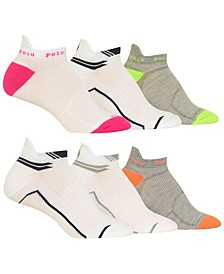 Women's Tab 6pk Low Cut Socks
