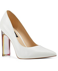 Trixi Lucite High-Heel Pumps