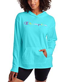 Champion Women's Cotton Logo Hoodie