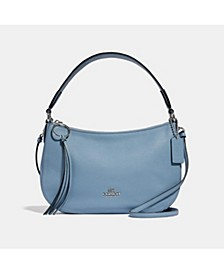Sutton Crossbody in Polished Pebble Leather