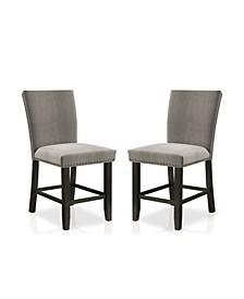Southwind 2 Piece Upholstered Counter Height Chairs Set