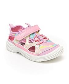 Little Girl's Selene Bump Toe Sneaker