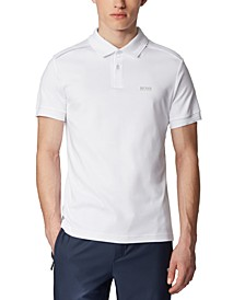 BOSS Men's Paule TR White Polo Shirt