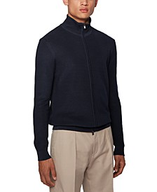 BOSS Men's Iclaudio Dark Blue Sweater