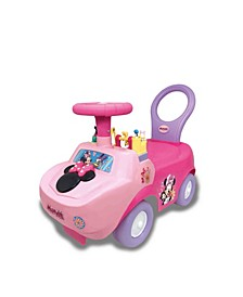 Disney Minnie Mouse Playtime Light Sound Activity Ride-On