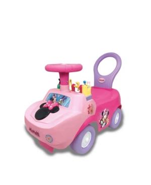 Kiddieland Disney Minnie Mouse Playtime Light Sound Activity Ride-On
