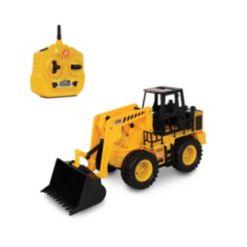 Nkok Earth Movers Rc Wheel Loader Toy Vehicle
