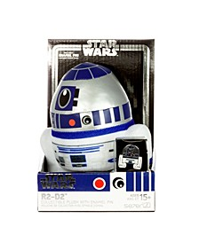 "Star Wars Medium Heroez 7"" Plush Pin Set R2-D2"