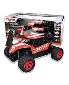 Taiyo Metal Racer 1-18 Scale Rock Crawler Dune Buggy Remote Car Truck with Battery, Electric Charger, and Handset For Offroad