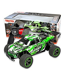 Taiyo Max Racer 1-18 Scale Rock Crawler Dune Buggy Remote Control Truck with Battery, Electric Charger, and Handset For Offroad