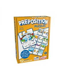 Preposition Learning Educational Puzzles