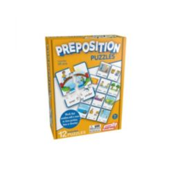 Junior Learning Preposition Learning Educational Puzzles