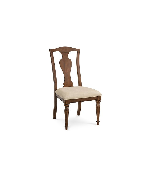 Furniture Orle Side Chair, Created for Macy's