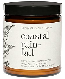 Coastal Rainfall Soy Candle, 9-oz.