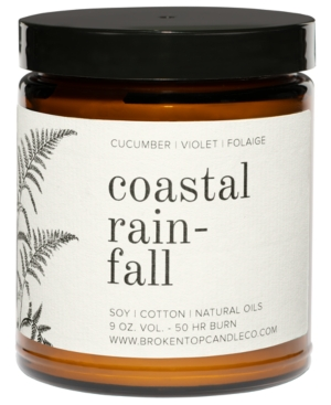 . Coastal Rainfall Soy Candle