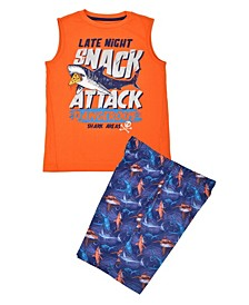 Big Boys Snack Attack Short Set