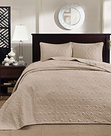 Quebec 2-Piece Twin Quilted Bedspread Set