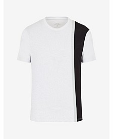 Men's Abstract Environment Colorblock T-shirt