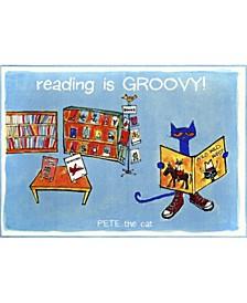 "Elementary Reading Is Groovy 3-Pelm06 Multi 4'11"" x 6'6"" Area Rug"