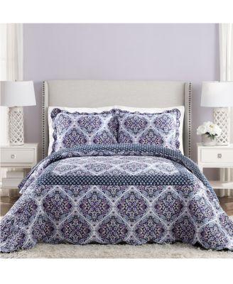 Vera Bradley Regal Rosette Queen Bedspread