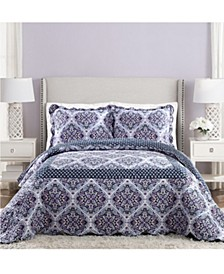 Regal Rosette King Bedspread
