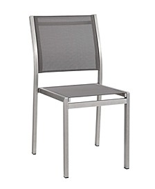 Shore Outdoor Patio Aluminum Dining Side Chair