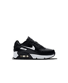 Little Kids' Air Max 90 Leather Running Sneakers from Finish Line