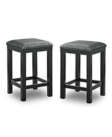 Harlence Upholstered Barstools, Set of 2