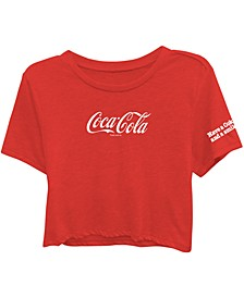 Juniors' Coca-Cola T-Shirt