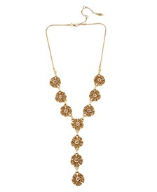 New York Flower Y- Necklace