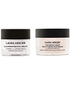 Receive a FREE 2pc skincare gift with any $95 Laura Mercier purchase