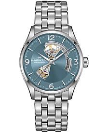 Men's Swiss Automatic Jazzmaster Stainless Steel Bracelet Watch 42mm