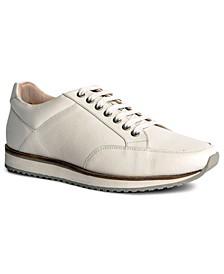 Barack Court Men's Leather Sneaker